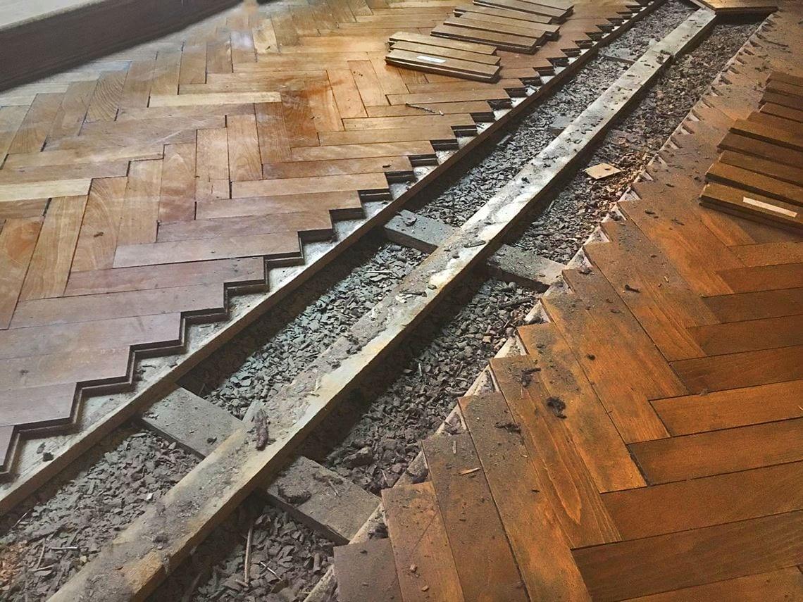 pavimenti in legno antico