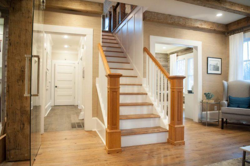 Scale in legno e rivestimenti per scale interne in legno